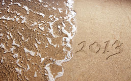 Новый Год 2013 приходит Стоковая Фотография