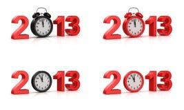 Новый Год 2013 Стоковое Изображение
