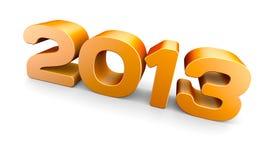 НОВЫЙ ГОД 2013 Стоковые Изображения RF