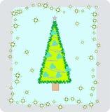 новый год s tree2 Стоковые Изображения RF