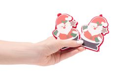 Новый Год santa игрушки рождественской елки украшения рождества Стоковое Фото