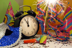 новый год sparklers Стоковое фото RF