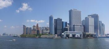 новый горизонт york панорамы Стоковые Изображения