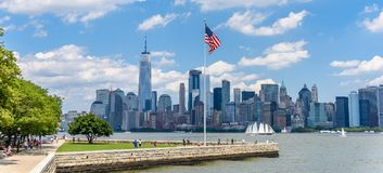 новый горизонт york стоковое изображение