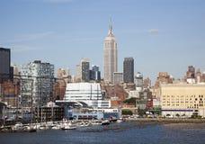 новый горизонт york Стоковая Фотография RF