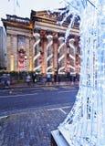 Новый городок в Эдинбурге Стоковая Фотография RF