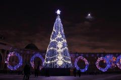 Новый Год в Санкт-Петербурге Стоковые Фото