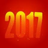 Новый Год 2017 Год петуха диаграммы иллюстрация штольни предпосылки больше моего также вектор иллюстрации притяжки corel иллюстрация штока