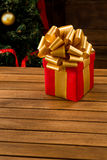 Новый Год и подарок на рождество или подарок Стоковые Изображения