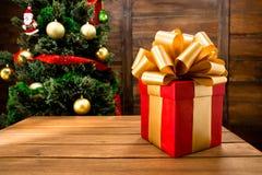 Новый Год и подарок на рождество или подарок Стоковые Фотографии RF