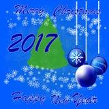 Новый Год и рождество праздника торжества Стоковые Изображения