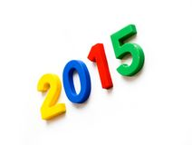 Новый Год и рождество 2015 стоковое фото rf