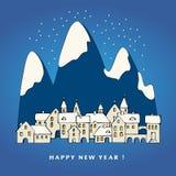 Новый Год карточки счастливое Стоковая Фотография