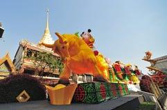 Новый Год китайца bangkok Стоковое Фото