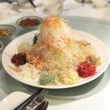 Новый Год китайца yu Sheng Стоковое Изображение RF