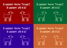Новый Год коз Стоковое Фото