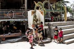 Новый Год Лаоса Стоковое Изображение