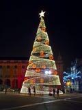 Новый Год на Лиссабоне Стоковое фото RF