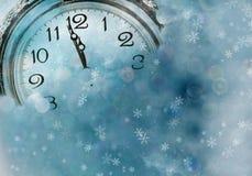 Новый Год на полночи Стоковые Изображения