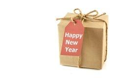Новый Год подарка коробки Стоковые Изображения