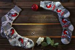 Новый Год подарков Стоковые Изображения RF