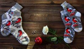 Новый Год подарков Стоковое Изображение RF