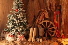 Новый Год подарков Стоковое Изображение