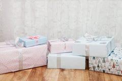 Новый Год подарков Стоковая Фотография