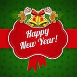 Новый Год праздника предпосылки Стоковое Изображение