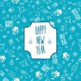 Новый Год праздничной картины счастливый Стоковое Изображение