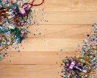 Новый Год: Предпосылка Новогодней ночи потехи Стоковое фото RF