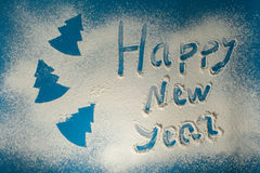 Новый Год предпосылки счастливое Стоковые Фото
