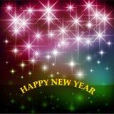 Новый Год приветствию карточки счастливое Новый Год Стоковое фото RF