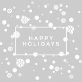 Новый Год приветствию рождества карточки Стоковые Фотографии RF