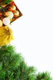 Новый Год приветствию рождества карточки Стоковое Изображение RF