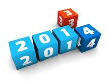 Новый Год приходит Стоковые Фотографии RF