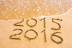 Новый Год 2016 приходя концепция Стоковое Фото