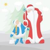 Новый Год рождества карточки Стоковые Изображения