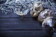 Новый Год рождества предпосылки Стоковые Фотографии RF