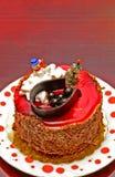 Новый Год торта Стоковые Фотографии RF
