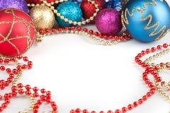 Новый Год украшения рождества Стоковые Фото