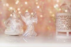 Новый Год украшения рождества Стоковое Изображение