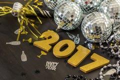 Новый Год украшения Стоковые Изображения RF