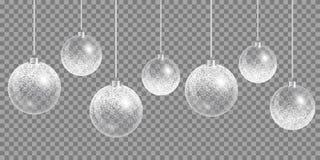 Новый Год шарика Стоковые Фото