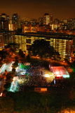 Новый Год 2008 отсчетов вниз Стоковое Фото