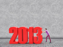 Новый Год стоковое изображение rf