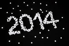 Новый Год 2014 иллюстрация вектора