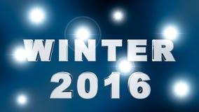 Новый Год 2016 Стоковая Фотография RF
