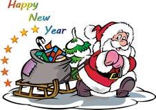 Новый Год иллюстрация штока