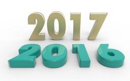 Новый Год 2017 Стоковое фото RF
